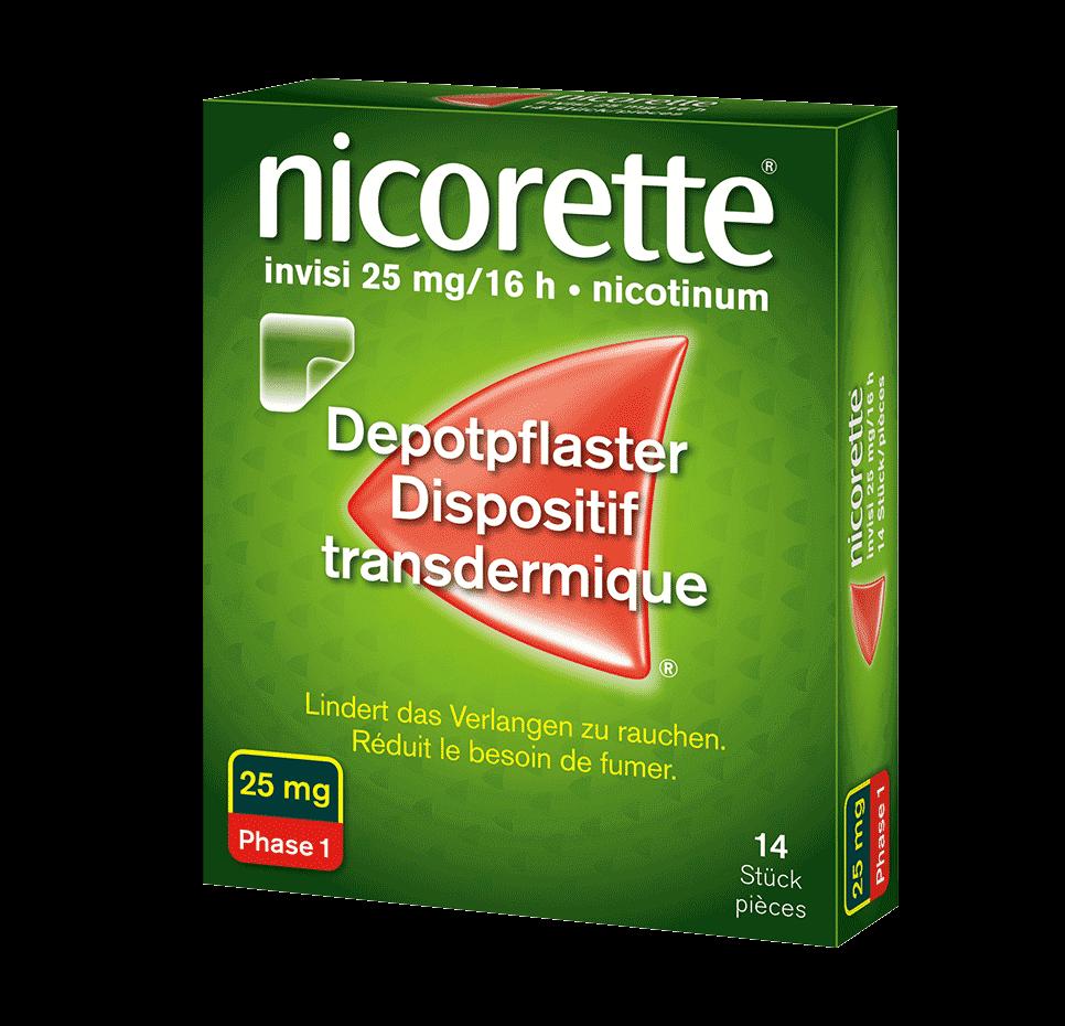 NICORETTE® invisi Depotpflaster