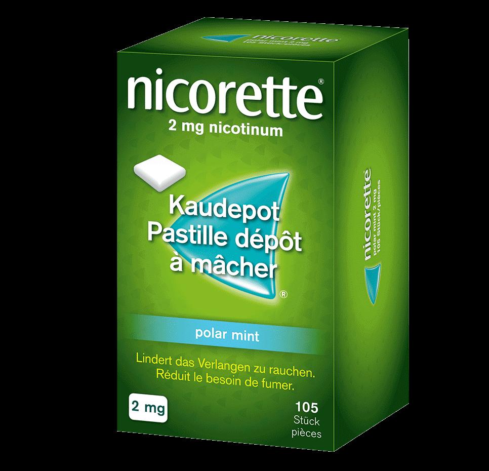 NICORETTE® Pastille dépôt à mâcher