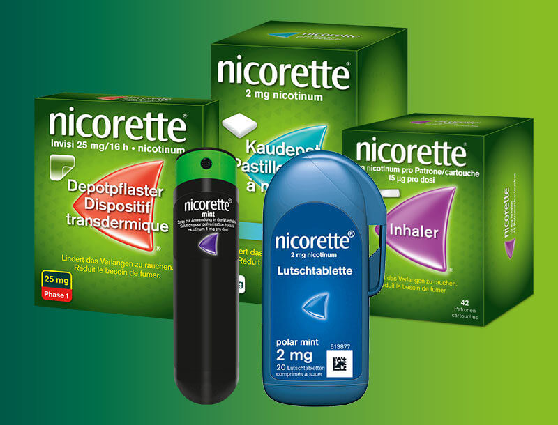Nicorette Produkte
